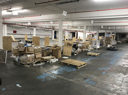 business premises cleared out in derby